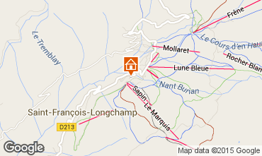 Mappa Saint François Longchamp Appartamento 73305