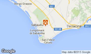 Mappa Sabaudia Appartamento 72034