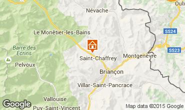Mappa Serre Chevalier Chalet 2856