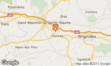 Mappa Saint Maximin la Sainte Baume Villa  92025