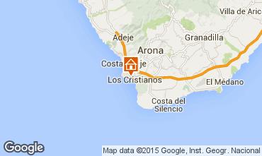 Mappa Los Cristianos Appartamento 99539
