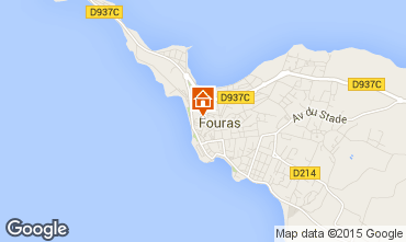 Mappa Fouras Agriturismo 27607