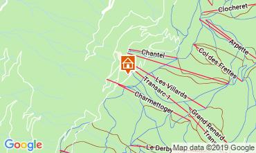 Mappa Les Arcs Appartamento 57964