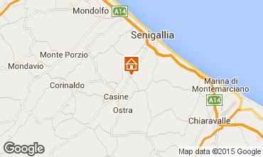 Mappa Senigallia Appartamento 87655