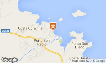 Mappa Porto San Paolo Appartamento 89434