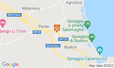Mappa Budoni Appartamento 103576