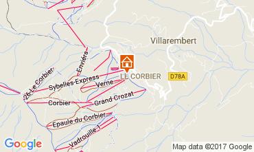 Mappa Le Corbier Monolocale 39509