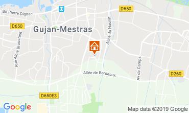 Mappa Gujan Mestras Casa 119471