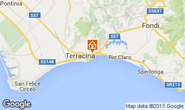 Mappa Terracina Villa  88679