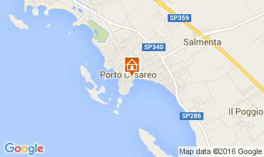 Mappa Porto Cesareo Appartamento 105172