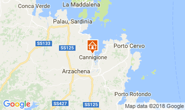 Mappa Cannigione Appartamento 112050