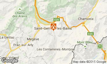 Mappa Saint Gervais Mont-Blanc Chalet 48749