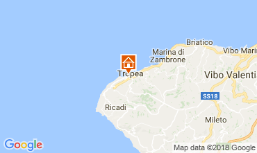 Mappa Tropea Appartamento 114015