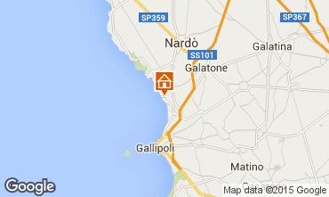 Mappa Gallipoli Monolocale 85805