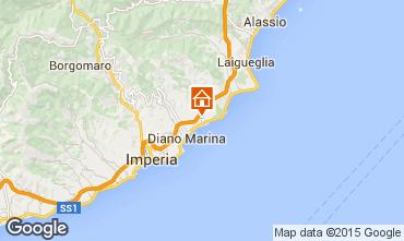 Mappa San Bartolomeo al Mare Monolocale 10219