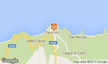 Mappa Peschici Monolocale 91526