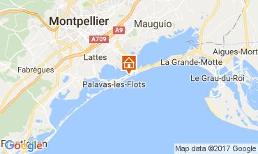 Mappa Palavas-les-Flots Villa  110505