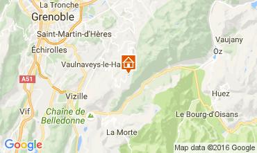 Mappa Chamrousse Appartamento 16753