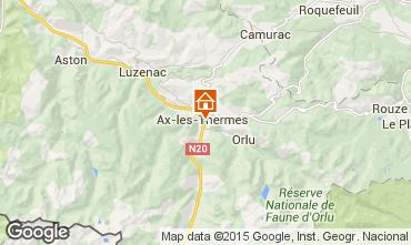 Mappa Ax Les Thermes Appartamento 99264