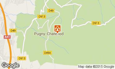 Mappa Aix Les Bains Casa 84393