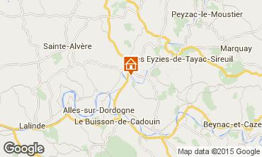 Mappa Le Bugue Agriturismo 84197