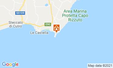 Mappa Isola di Capo Rizzuto Appartamento 89444