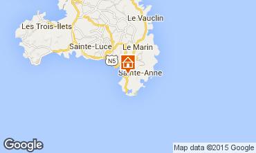 Mappa Sainte Anne (Martinique) Villa  8123