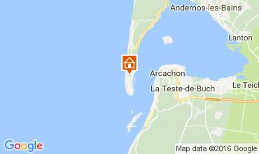 Mappa Cap Ferret Appartamento 9376