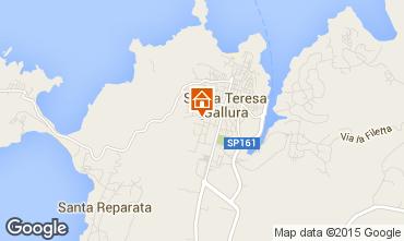 Mappa Santa Teresa di Gallura Casa 71328