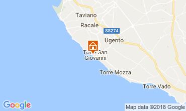 Mappa Ugento - Torre San Giovanni Appartamento 94486