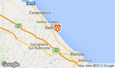 Mappa Bellaria Igea Marina Appartamento 64492