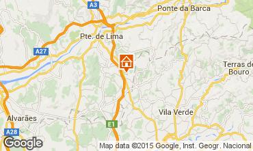 Mappa Ponte de Lima Casa 70923