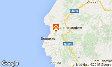 Mappa Buggerru Casa 43852