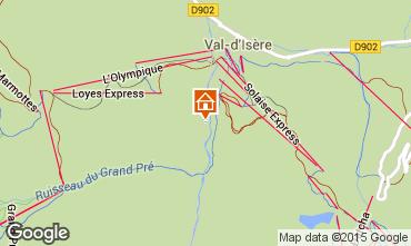 Mappa Val d'Isère Appartamento 3368
