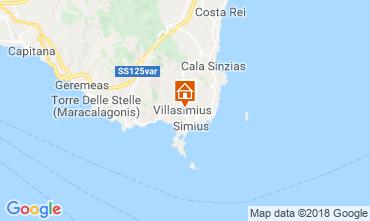 Mappa Villasimius Casa 117552