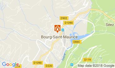 Mappa Bourg saint Maurice Appartamento 286