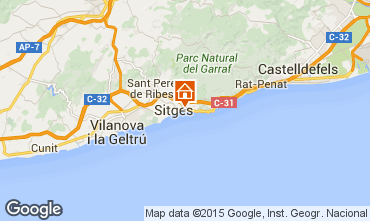 Mappa Sitges Monolocale 77209
