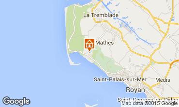 Mappa La Palmyre Villa  21626