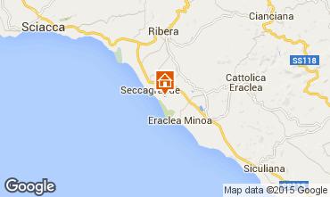 Mappa Ribera Appartamento 22786