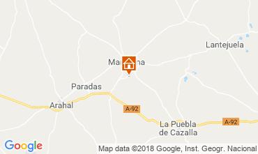 Mappa Siviglia Villa  117336