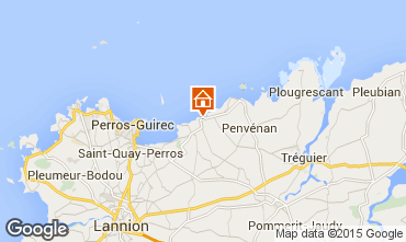 Mappa Perros-Guirec Appartamento 94927