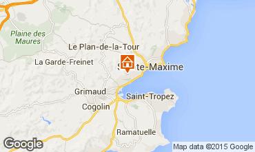 Mappa Sainte Maxime Villa  100705