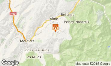Mappa La Plagne Monolocale 91307