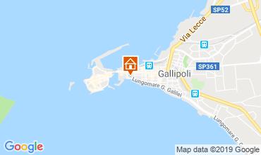 Mappa Gallipoli Appartamento 118747