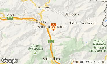 Mappa Les Carroz d'Araches Appartamento 627