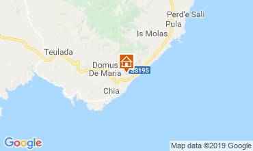 Mappa Pula Casa 118365