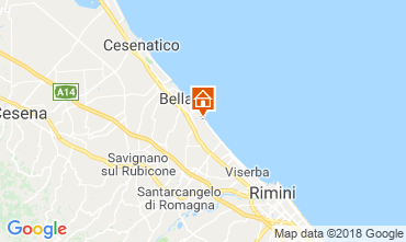 Mappa Bellaria Igea Marina Appartamento 82163