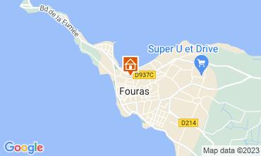 Mappa Fouras Agriturismo 98435