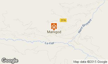 Mappa Manigod-Croix Fry/L'étale-Merdassier Appartamento 1567
