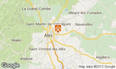 Mappa Alès Agriturismo 68431